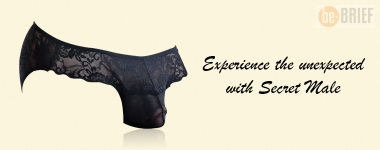 Experience the unexpected with Secret Male Sheer Underwear