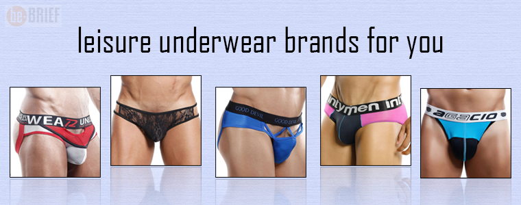 leisure underwear brands for you