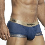 Be-Brief Underwear Intymen INT5602 Classic Mesh Boxer Navy